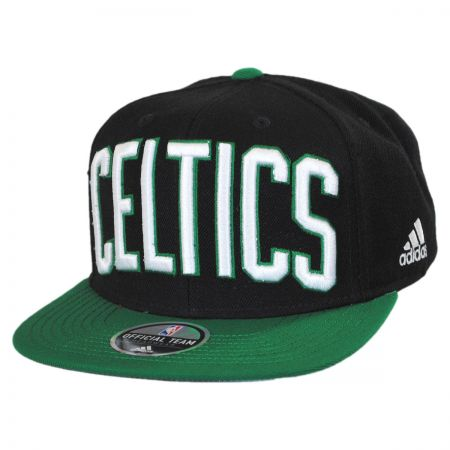 Mitchell & Ness Boston Celtics NBA adidas On-Court Snapback Baseball Cap