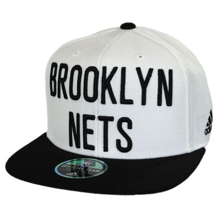 Mitchell & Ness Brooklyn Nets NBA adidas On Court Snapback Baseball Cap