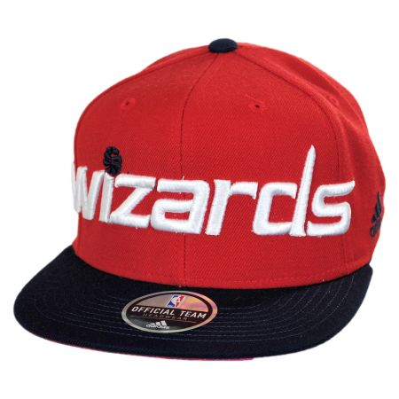 Washington Wizards NBA adidas On-Court Snapback Baseball Cap alternate view 1
