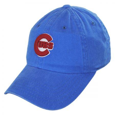American Needle Chicago Cubs MLB Raglan Strapback Baseball Cap