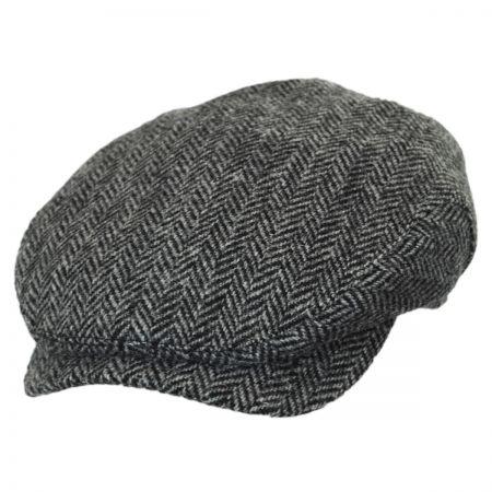 Herringbone Harris Tweed Wool Ivy Cap alternate view 1