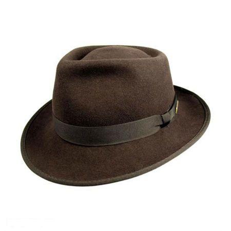 Indiana Jones Indiana Jones Kids Crushable Wool Fedora Hat