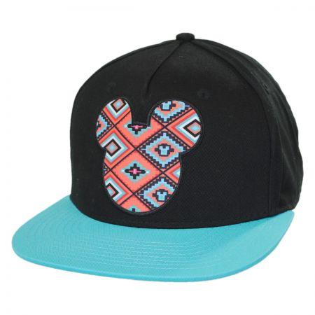 Neff Aztec Mickey Prime Snapback Baseball Cap