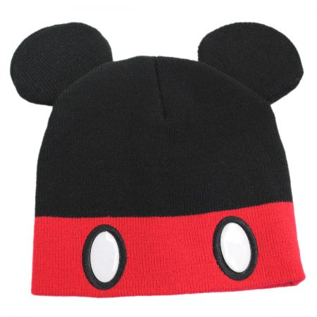 Disney Mickey Mouse Knit Acrylic Beanie Hat