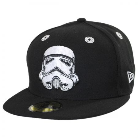 New Era Star Wars Storm Trooper Stargazer 59Fifty Snapback Baseball Hat