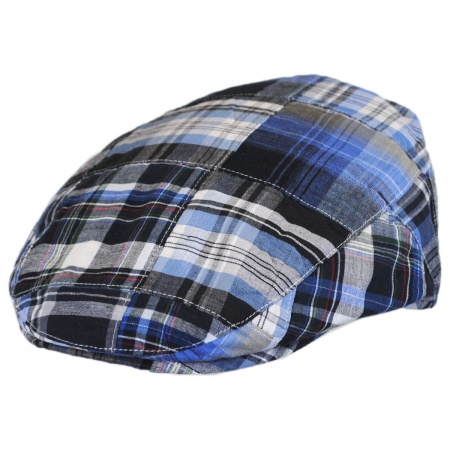 Stetson Madras Plaid Cotton Ivy Cap