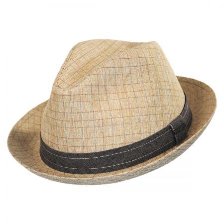 Stetson Tattersall Fabric Trilby Fedora Hat