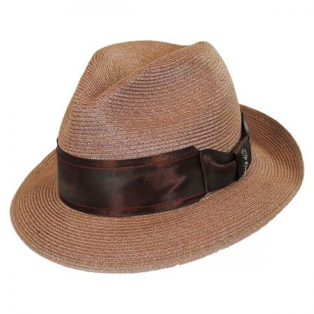 Carlos Santana Nebula Hemp Straw Fedora Hat