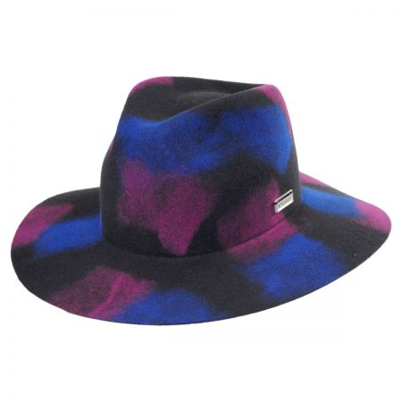 Crayon Wool Felt Trilby Fedora Hat alternate view 1