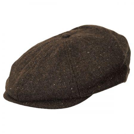Brixton Hats Brood Newsboy Cap - Tweed