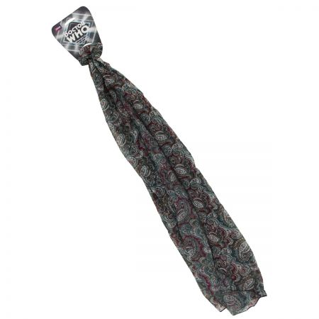 Doctor Who Seventh Doctor Lightweight Paisley Scarf
