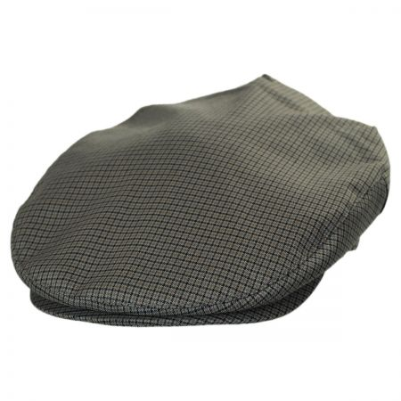 Brixton Hats Barrel Checkered Cotton Blend Ivy Cap