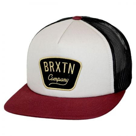 Brixton Hats Gaston Mesh Snapback Baseball Cap