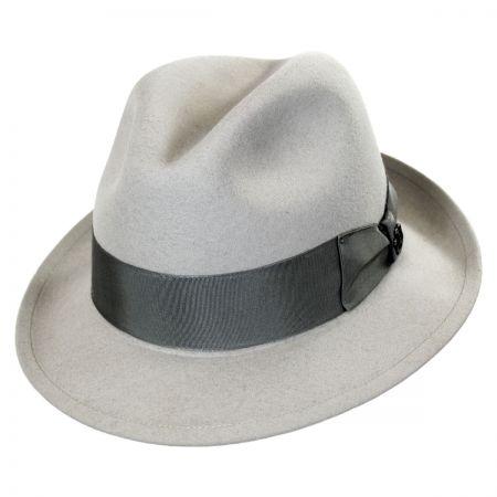 Biltmore Brussels Wool Felt Fedora Hat