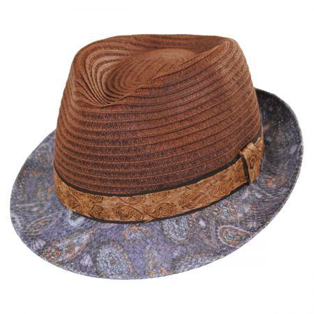 Carlos Santana Remix Toyo Straw Fedora Hat