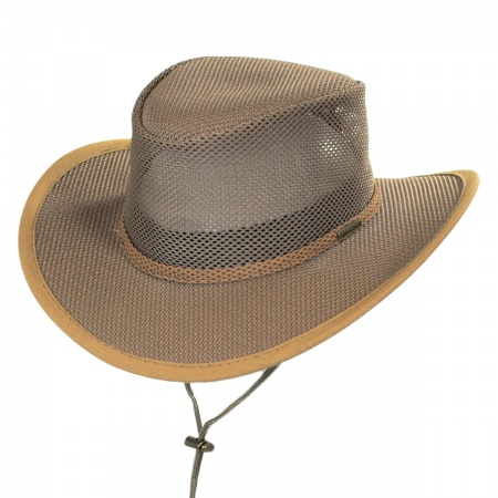 Stetson Mesh Cover Soaker Hat