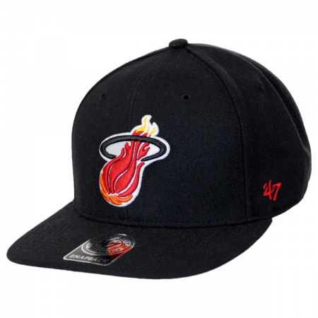47 Brand 47 Brand - Miami Heat NBA Sure Shot Snapback Baseball Cap