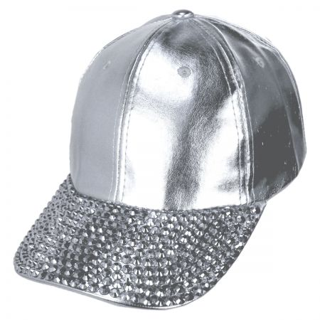 Metallic Stud Adjustable Baseball Cap alternate view 9