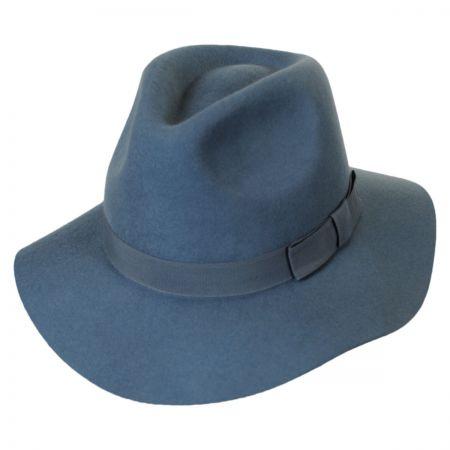 Brixton Hats Indiana Wool Felt Floppy Fedora Hat