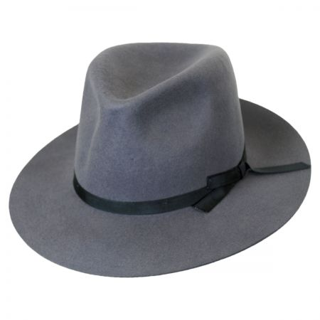 Brixton Hats Manhattan Wool Felt Fedora Hat