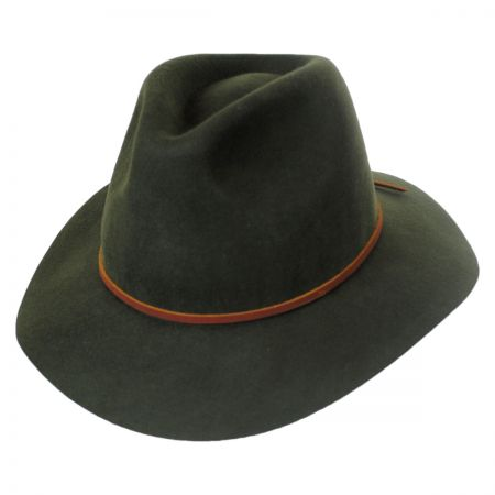 Wesley Wool Felt Floppy Fedora Hat alternate view 45