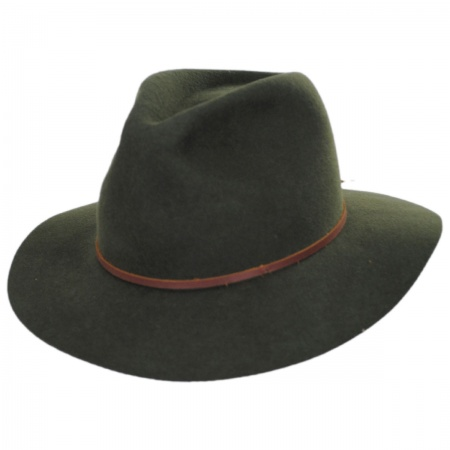 Wesley Wool Felt Floppy Fedora Hat alternate view 78