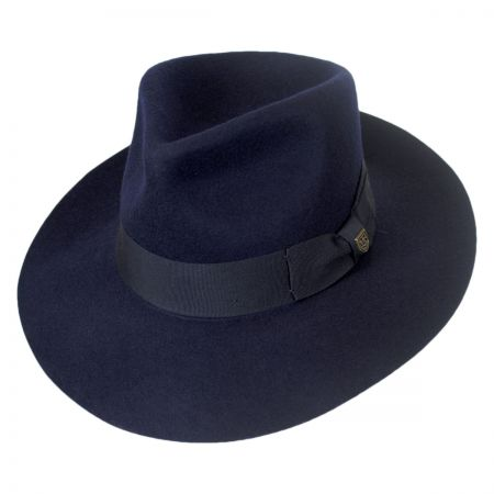 Brixton Hats Lopez Wool Felt Wide Brim Fedora Hat
