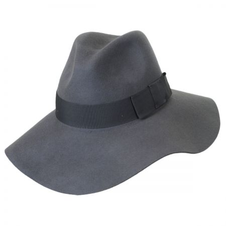 Piper Wool Felt Floppy Fedora Hat alternate view 10