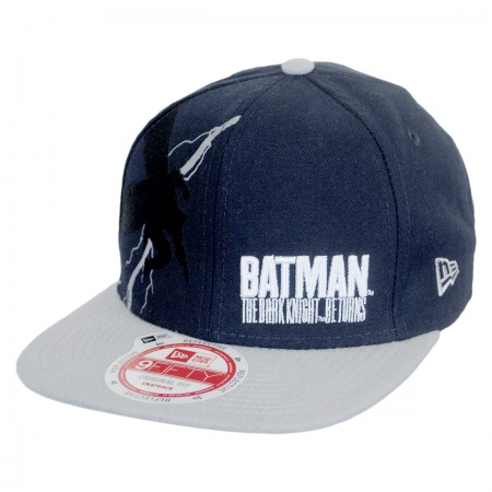 New Era DC Comics Batman Flash Effect 9Fifty Snapback Baseball Cap