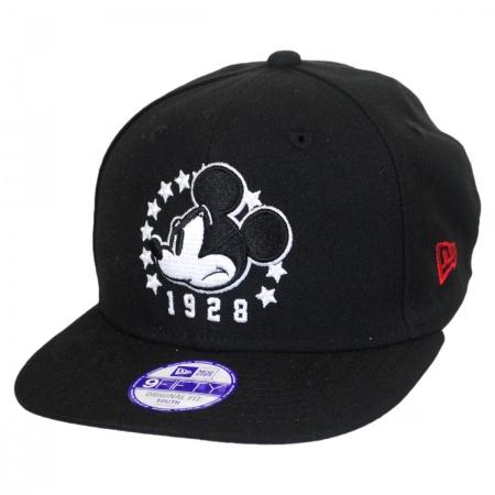 New Era Disney Mickey Mouse Block Back 9Fifty Youth Snapback Baseball Cap