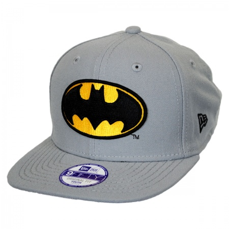 New Era DC Comics Batman Block Back 9Fifty Kids' Snapback Baseball Cap