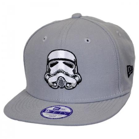 New Era Star Wars Storm Trooper Block Back 9Fifty Kids' Snapback Baseball Cap
