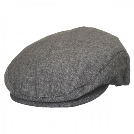 Brixton Hats Hooligan Chambray Linen Ivy Cap