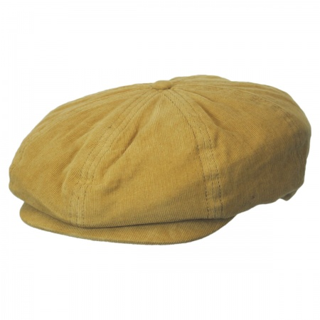 Brixton Hats Brood Solid Corduroy Newsboy Cap