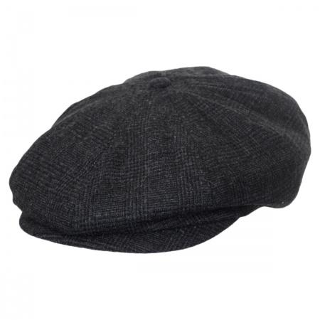 Brixton Hats Brood Glenplaid Newsboy Cap
