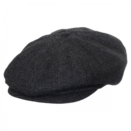 Brixton Hats Brood Glenplaid Newsboy Cap