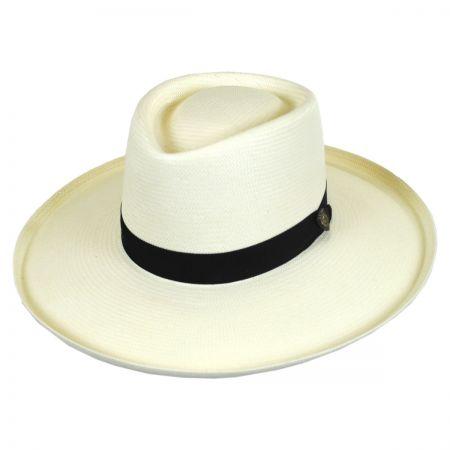 San Juan Shantung Straw Planter Hat