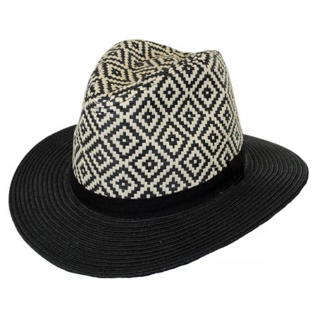 Brooklyn Hat Co Riviera Toyo Straw Fedora Hat