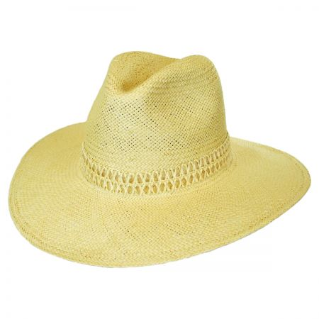 Brooklyn Hat Co Dressler Toyo Straw Fedora Hat