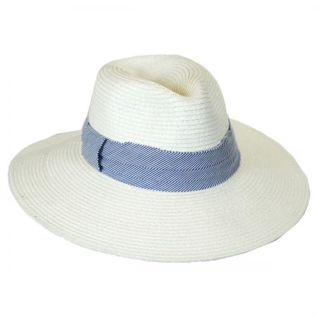 Brooklyn Hat Co Roppongi Toyo Straw Fedora Hat