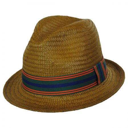 Brooklyn Hat Co Ono Toyo Straw Stingy Brim Fedora Hat