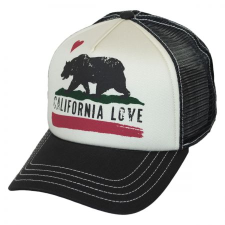 Brooklyn Hat Co California Love Trucker Snapback Baseball Cap