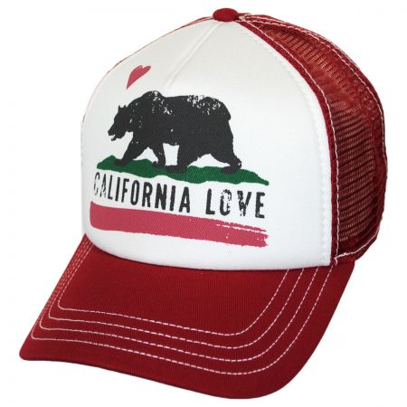 California Love Trucker Snapback Baseball Cap alternate view 2