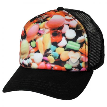 Brooklyn Hat Co Candyland Trucker Snapback Baseball Cap