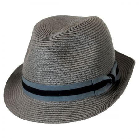 Brooklyn Hat Co Bedford Toyo Straw Fedora Hat