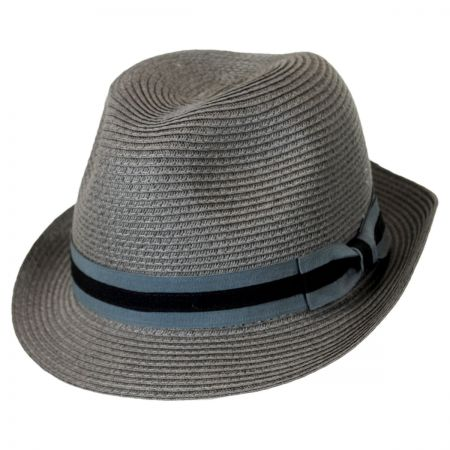 Brooklyn Hat Co Bedford Toyo Straw Fedora Hat