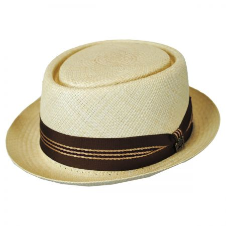 Biltmore Harrison Straw Pork Pie Hat - VHS Exclusive