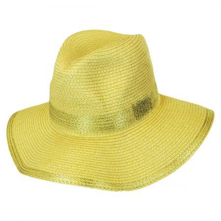 Callanan Hats Lurex Stitches Floppy Fedora Hat