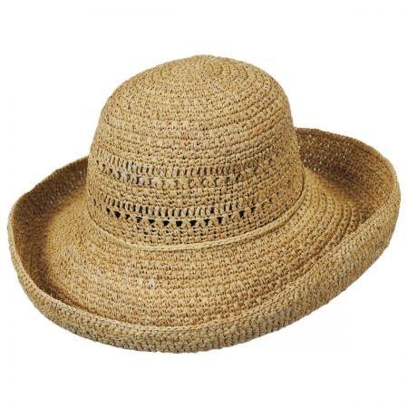 Callanan Hats Raffia Crochet Roller Hat