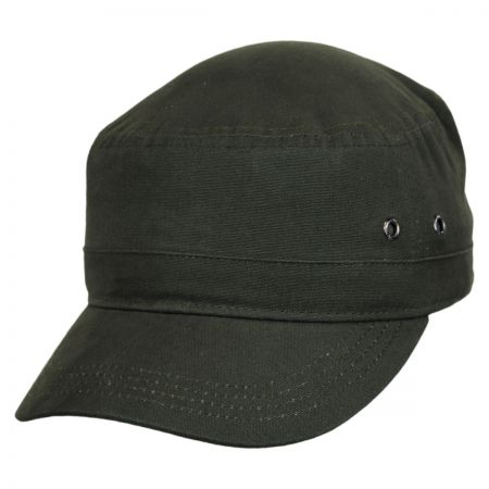 EK Collection by New Era Canvas Military Cadet Cap
